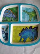 Emily Green Children's Divided Platic Plate