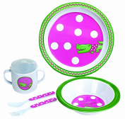 Manual Woodworkers Child'S 5 Piece Melamine Dish Set