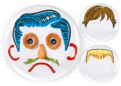 DINNER DO's Plates - make faces at the table
