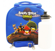 Angry Birds Space Lunch Bag with Water Bottle - Royal