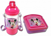 Disney Minnie Mouse Pink Lunch Set