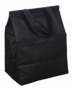 NON Woven Insulated Grocery Lunch Bag Cooler, Black by BAGS FOR LESSTM