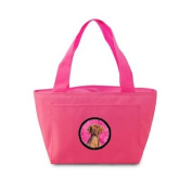 Vizsla Pink Insulated Lunch Bag Tote