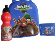 Angry Birds Lunch Box and Blue Pencil Case