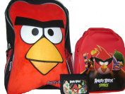 New Angry Birds Lunch Box and Red Wallet