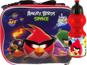 School Angry Birds Insulated Lunch Box and Water Bottle