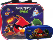 Angry Birds Insulated Lunch Box and Blue Pencil Case