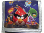 New Angry Birds Lunch Box Black Pencil Case and Pencils Set