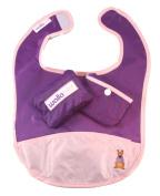 Wallabib Pocket Travel Baby Toddler Bib in a Pouch