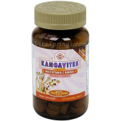 Solgar Kangavites Multivitamin and Mineral Chewable Tablets - Tropical Punch Flavour