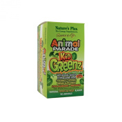 Nature's Plus Animal Parade® KidGreenz® Children's Chewable with Whole Food Concentrates Tropical Fruit -- 90 Chewable Tablets