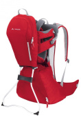 Vaude Wallaby Child Carrier, Red