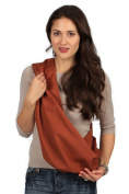 HugaMonkey Burnt Orange Baby Sling