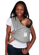 Baby K'tan ORIGINAL Baby Carrier, Heather Grey, Large