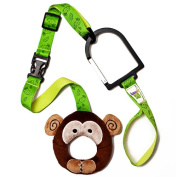 Hold-on Handles Zany Zoo Monkey Single Handle Set