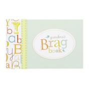 CR Gibson Grandma's Brag Book/Baby Photo Album -- Newborn Baby Gift Set / Keepsake / Memory Book / Baby Journal