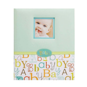C.R. Gibson 5 Year Baby Memory Book, Baby Love Multi-Coloured