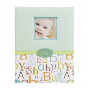 C.R. Gibson 5 Year Loose Leaf Baby Memory Book Multi-Coloured