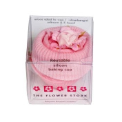 Flower Stork Fairy Cake - Sock - baby girl pink - 3 months +. Imported from UK.