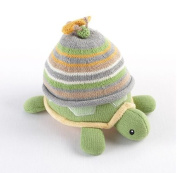 """Turtle Toppers"" Baby Hat and Turtle Plush Gift Set"