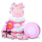 The Gift Basket Gallery It's a Boy! 2 Tier Nappy Cake