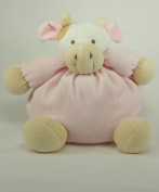 Soft Pink Cow with Rattle