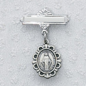 Sterling Silver MIRACULOUS BABY PIN