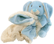 Stephan Baby Ultra Soft and Huggable Plush Knotty Bunnie and Blankie Gift Set