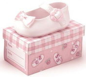 Oh! So Cute Baby Girl Pink Ceramic Shoe