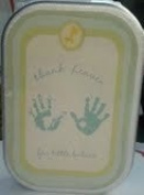 Carter's Baby's Hand & Foot Kit - Thank heaven for little babies