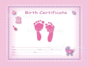 TenLil'Imprints Footprint Birth Kit