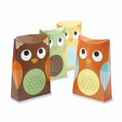 Kate Aspen Set of 24 Owl Favour Box, Whooo's Happy