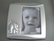 Silver Plated Elephant Baby Photo Frame