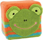 Frog K'NIT 10cm Rattle Block by Rich Frog
