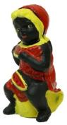 IWGAC 0170S-04624 Cast Iron Lady Eating Watermelon Bank