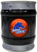 Boise State Broncos BSU NCAA Basketball Black And Grey Bolt Design Tin Bank