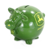 John Deere Cow Bank