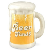Beer Funds Hand Painted Money Bank