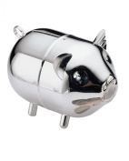 Lunt Silver Plated Piggy bank