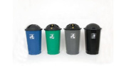 FD RECYCLING CUP BANK BLUE 347568