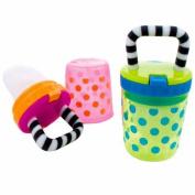 Sassy Polka Dots Teething Feeder - Assorted Colours