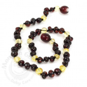 Momma Goose Amber Teething Necklace - Baby Baroque