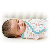 Summer Infant SwaddleMe Swaddling Blanket, Apple Blossom, Small