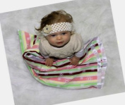 Woombie 76cm Cotton Square Baby Blanket