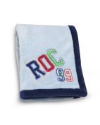 Roca Embroidered Boa Blanket