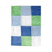 Hudson Baby Multi-Fabric 12-Panel Blanket