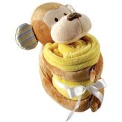 Hudson Baby Plush Animal and Blanket
