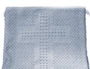 Woven Baby Cross Blanket