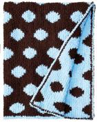 Colorado Clothing Kid's Chunky Chenille Polka Dot Blanket