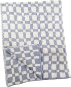Izzy Jacquard Knitted Baby Throw Nursery Blanket